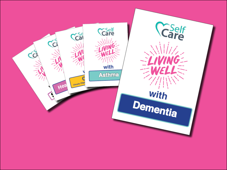 Living Well with Dementia booklet