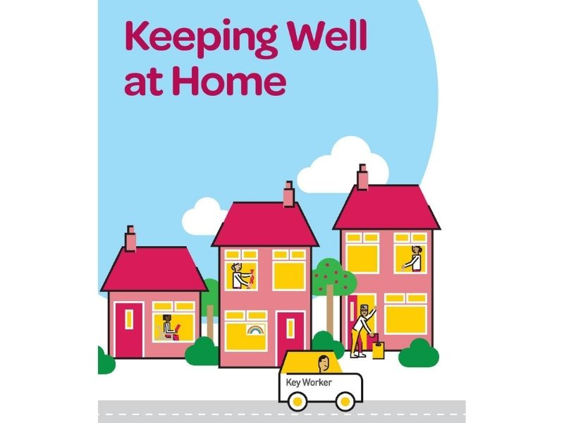 Keeping Well at Home Booklet Cover pic