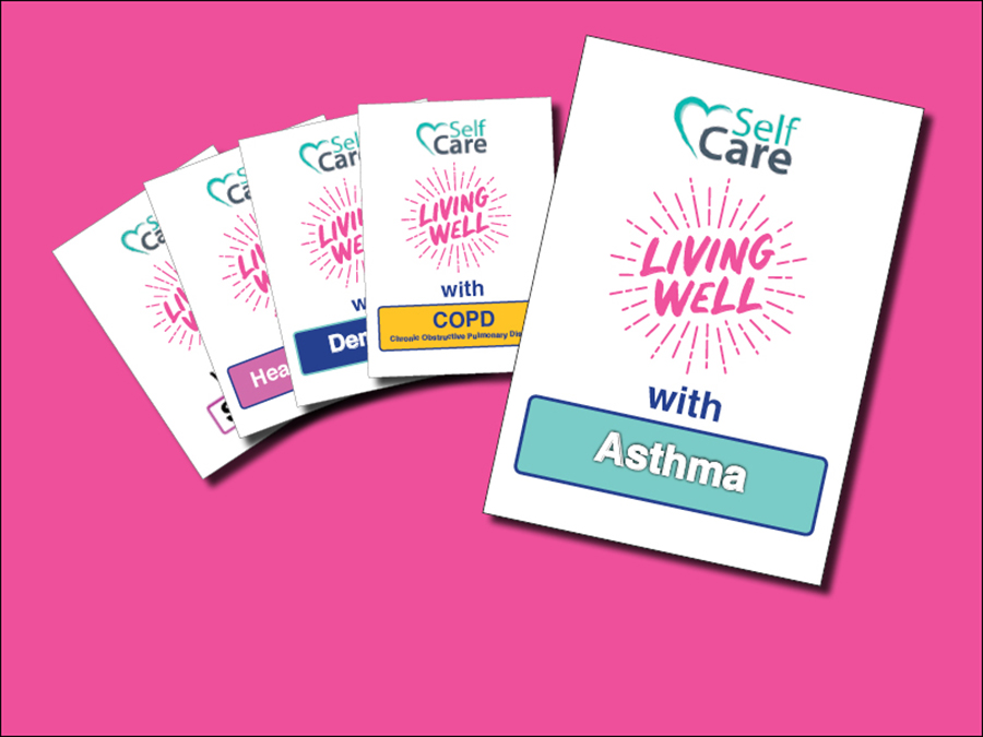 Living Well with Asthma booklet